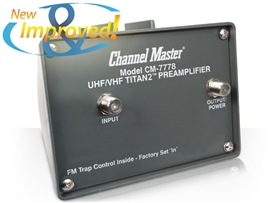Channel Master CM7777 Preamp